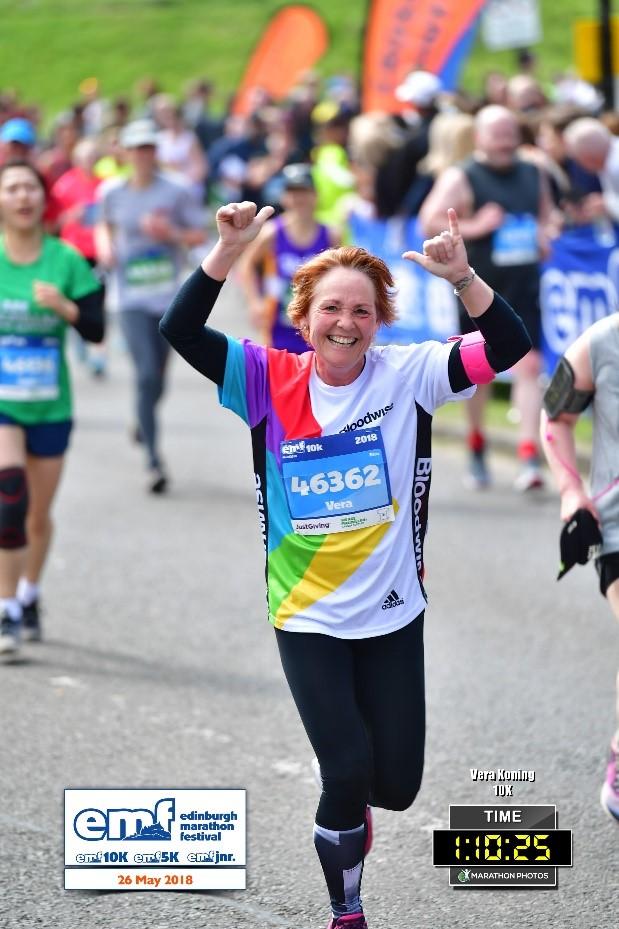 Vera Koning helpt hospice Dignitas
